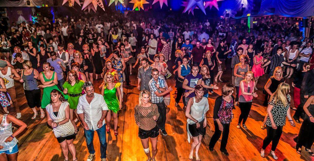 Line dance at CEROC weekender